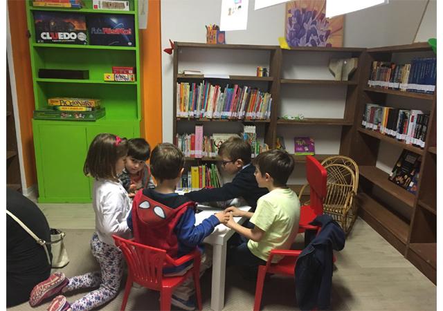Sala lettura bambini/ludoteca