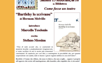 Marcello Teodonio e Stefano Messina- Bartleby lo scrivano