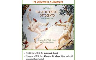 Racconti d'arte sulla pagina facebook della Biblioteca! www.facebook.com/bibliofregene