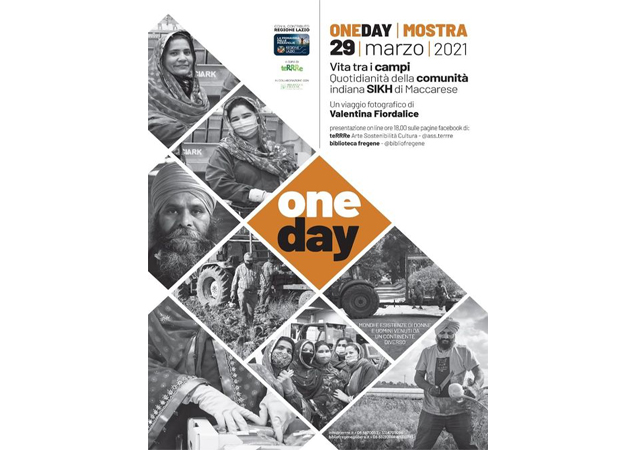 One day. Vita tra i campi, quotidianità della comunità indiana Sikh di Maccarese