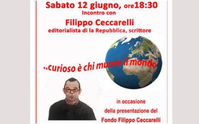 12 giugno: inaugurazione Fondo Filippo Ceccarelli