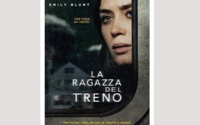 """Cinema in Biblioteca, Film tratti da libri: """"La ragazza del treno"""" 25 agosto, ore 21"""