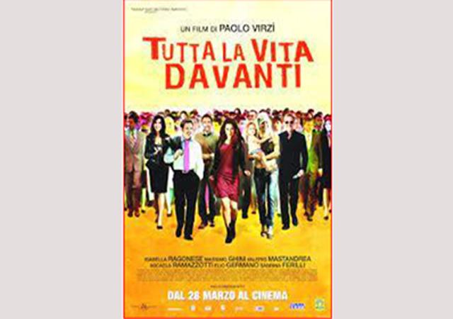 Cinema in Biblioteca: TUTTA LA VITA DAVANTI. 18 agosto, ore 21
