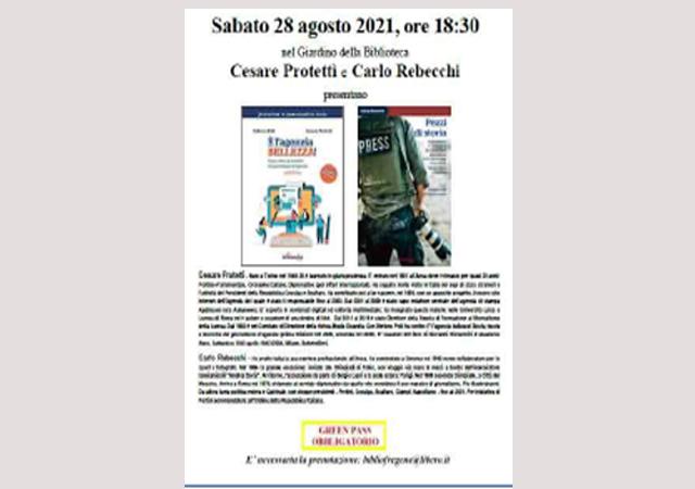 """""""Pezzi di storia"""": 28 agosto, ore 18,30."""